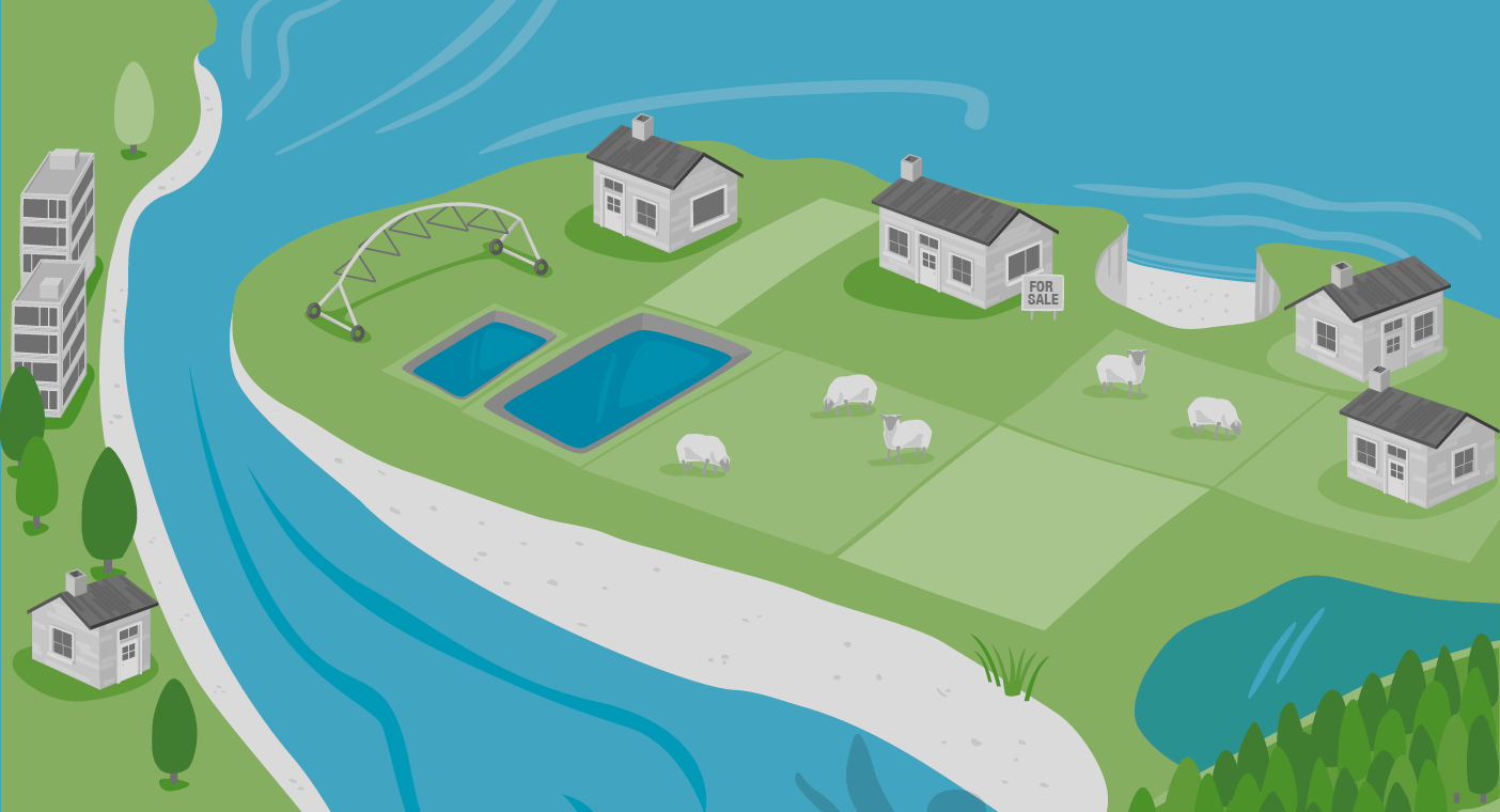 Illustration of erosion from Climate Change Implications report