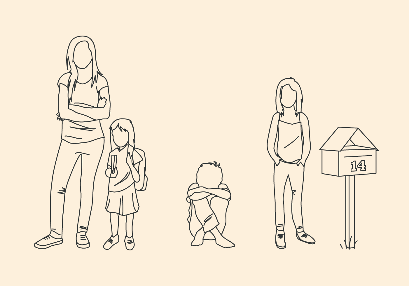 Characteristics of children at risk illustrations
