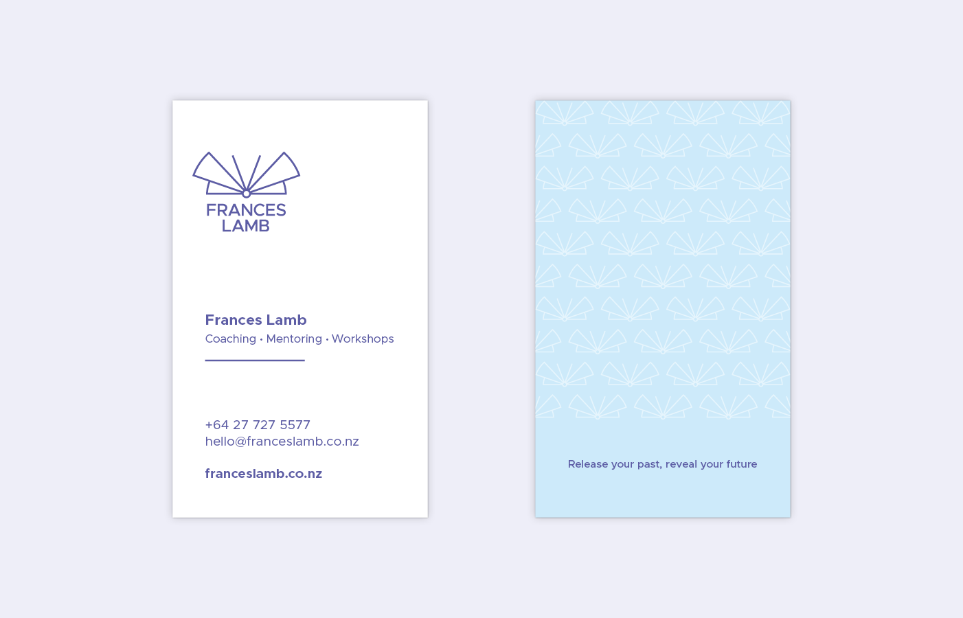 Frances Lamb business cards