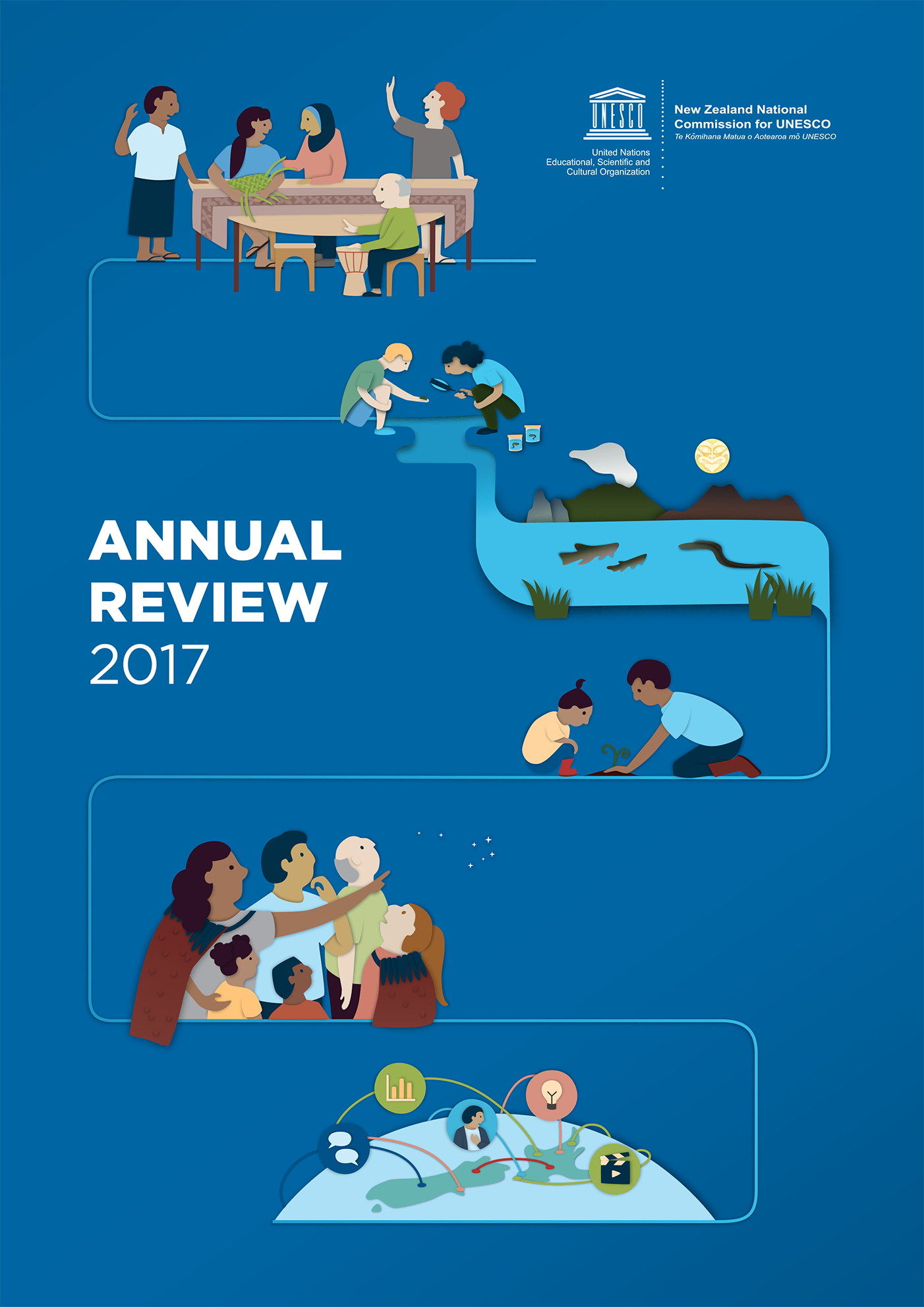 Gusto UNESCO annual report illustration