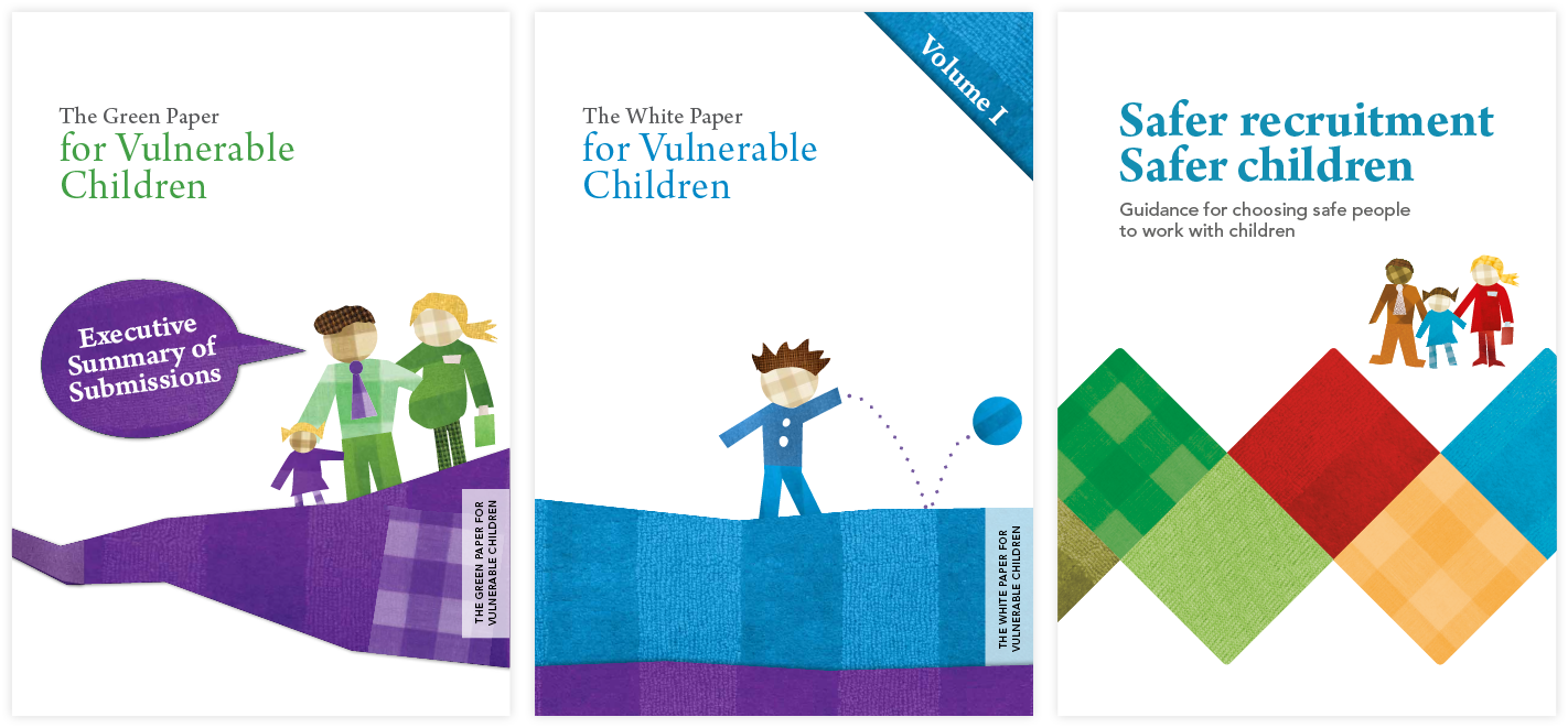 Children's Action Plan brand publications