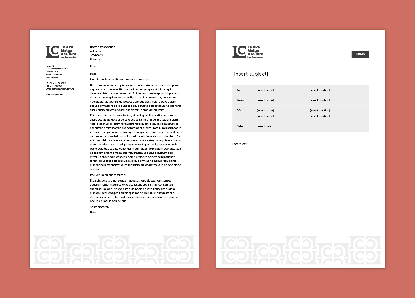 Law Commission brand documents