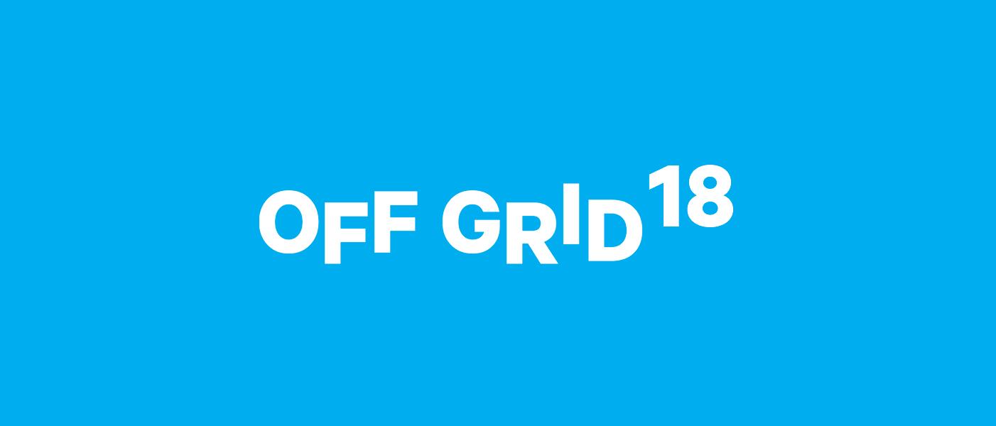 OFF GRID 18 logo